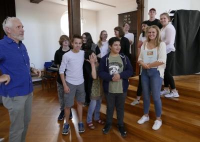 Die Siegergruppe aus der Jugendetage Treibhaus